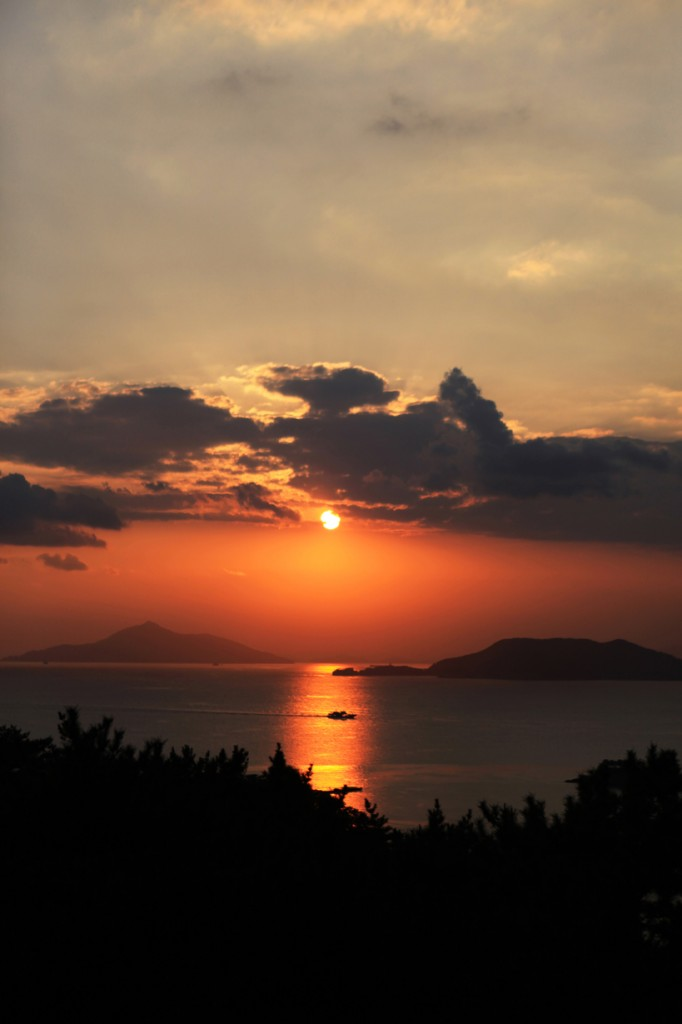 Sunset of Namhae_2_Korea