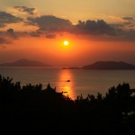 Sunset of Namhae_Korea